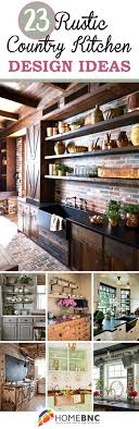 23 Rustic Country Kitchen Decor Ideas To Make Your Cooking Space Unique