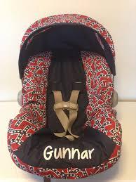 items similar to confederate flag fabric rebel infant car seat