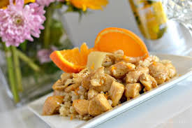 This Gluten Free Sticky Orange Ginger Chicken With Coconut Rice Is A Delicious Chinese Dinner