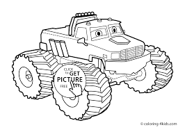 100 Truck Coloring Sheets Monster Truck Page For Kids Monster Truck Coloring Books