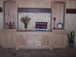 Custom Dining Room Cabinets With Lights By JB Murphy Company Cabinet Builders
