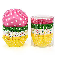 Gifbera Standard Size Paper Baking Cups Cupcake Liners 200 Count