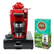 Red Coffee Maker Single Serve Holiday Bundle With K Cup Pods Walmart Hamilton Beach