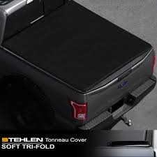 100 F 150 Truck Bed Cover Stehlen 714937189409 Soft Triold Style Tonneau Or