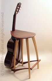 guitar stool guitar stand pinteres