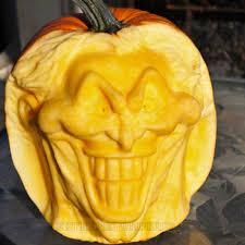 The Joker Pumpkin Stencil by The Joker Pumpkin