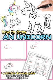 This Easy How To Draw An Unicorn Step By Tutorial Will Have You Drawing Unicorns