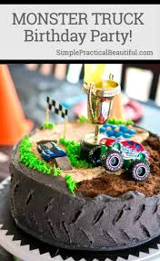100 Monster Truck Party Decorations Birthday Simple Practical Beautiful