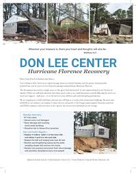 100 United Truck Center Hurricane Florence Recovery Don Lee Camp And Retreat
