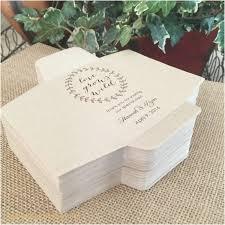 Lovely Flower Packets for Wedding Favors