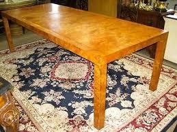 JOHN WIDDICOMB MID CENTURY MODERN BURLWOOD DINING TABLE DESK 8FT MILO BAUGHMAN