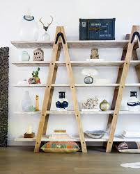 Wood Shelves Design Ideas by Best 25 Wooden Ladder Shelf Ideas On Pinterest Old Ladder Shelf