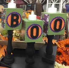 Halloween Warehouse Beaverton Oregon Hours by Make This Candle Block Sticks For Halloween And Fall Craft
