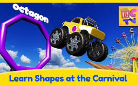 100 Youtube Trucks For Kids Learn Shapes With Monster And Carnival Game For YouTube
