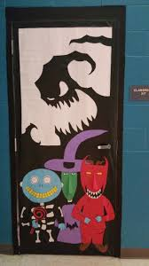 Christmas Classroom Door Decoration Pictures nightmare before christmas halloween door here is my door for