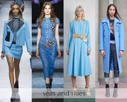 Image Result For 2017 Fashion Trend Blue Color