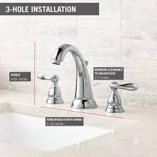Delta Windemere Kitchen Faucet Oil Rubbed Bronze by Bathroom Bareva Widespread Bathroom Faucet In Brushed Nickel For