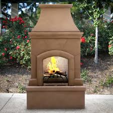 Coppola Outdoor Wood Burning Fireplace