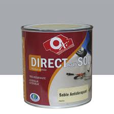 revetement sol exterieur resine leroy merlin peinture sol extérieur intérieur antidérapante oxytol gris 0 5