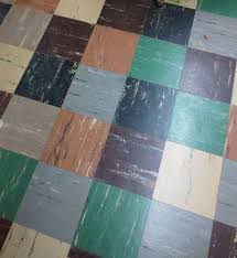 1950s Linoleum Tile Still In Many A Basement Most Of These Had Asbestos Them IIRC Thats Why Some Folks Just Use Those Pourabl