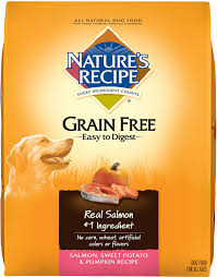 Turkey And Pumpkin For Dog Diarrhea by Nature U0027s Recipe Grain Free Salmon Sweet Potato U0026 Pumpkin Recipe