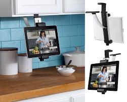 tablette pour cuisine libérez le comptoir de cuisine en suivant une recette sur votre