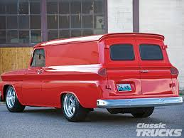 100 Panel Trucks 1965 Chevrolet Truck Hot Rod Network