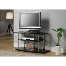 Living Room Tables Walmart by Convenience Concepts Designs2go No Tools 3 Tier Wide Tv Stand