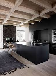 plafond de cuisine design 1001 photos inspirantes d intérieur minimaliste kitchen wood