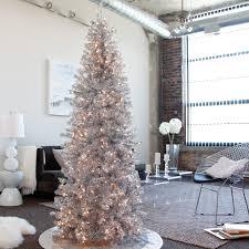 Slim Pre Lit Christmas Tree Led Lights by Indoor Christmas Trees Christmas Lights Decoration