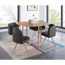 ensemble table chaises table a manger 4 personnes table a manger avec rallonge pas cher