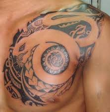 Tribal Chest Tattoo Ideas For Men
