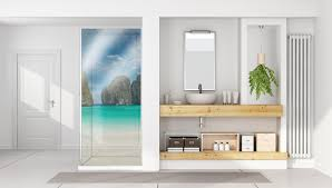 duschrückwand aus glas kaufen glasposter