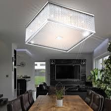 7 6 watt led deckenleuchte deckenle chrom glas beleuchtung wohnzimmer stäbe le