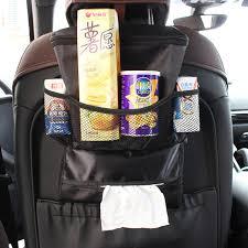 Multifunctional Car Storage Box Seat Hanging Organizer Bag Stowing Tidying Food Containers Snacks Holder Keep