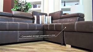 Intex Inflatable Sofa Corner by Dallas Corner Sleeper Couch Youtube