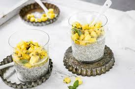 ananas chia pudding