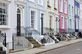 104 Notting Hill Houses The Colourful Of Little Observationist