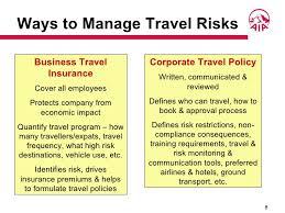 Maintain Corporate Reputation 8 Ways To Manage Travel