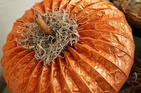 Make Dryer Vent Pumpkins by Glitter Dryer Vent Pumpkins