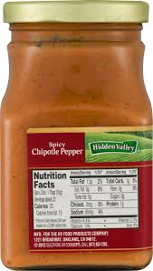 Chipotle Halloween Special 2012 by Hidden Valley Spicy Chipotle Pepper Sandwich Spread U0026 Dip 12 0 Oz