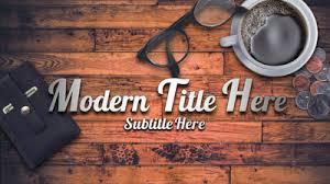 Modern Rustic Coffeeshop PowerPoint Template