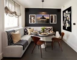 Black Accent Wall 10 Walls Dining Rooms Apartment Room Ideas With Transitional