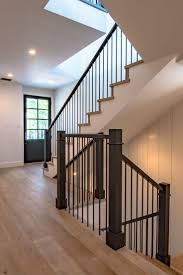 Best 25+ Black Stair Railing Ideas On Pinterest | Painted Stair ... Contemporary Railings Stainless Steel Cable Hudson Candlelight Homes Staircase The Views In South Best 25 Modern Stair Railing Ideas On Pinterest Stair Metal Sculpture Railings Railing Art With Custom Banister Elegant Black Gloss Acrylic Step Foot Nautical Inspired Home Decor Creatice Staircase Designs For Terrace Cases Glass Balustrade Stairs Chicago Design Interior Railingscomfortable