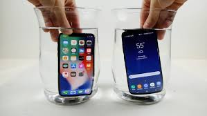 iPhone X vs Samsung Galaxy S8 Extreme Freeze Test Video Geeky