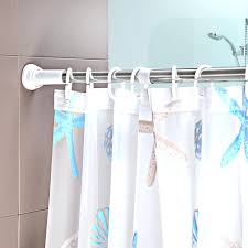 Curtain Rod Bracket Extender Walmart by Shower Curtains Shower Curtain Rod Holder Inspirations Shower