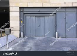 100 Car Elevator Garage Entrance Underground Lift Stock Photo Edit Now