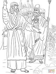 Click The Elijah Ahab And Prophets Of Baal On Mount Carmel Coloring Pages
