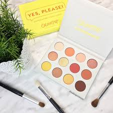 ColourPop Yes Please Pallet Swatches And Review