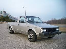 100 Vw Truck Diesel 1981 VW Rabbit Diesel Pickup Truck This Thing Got About 50